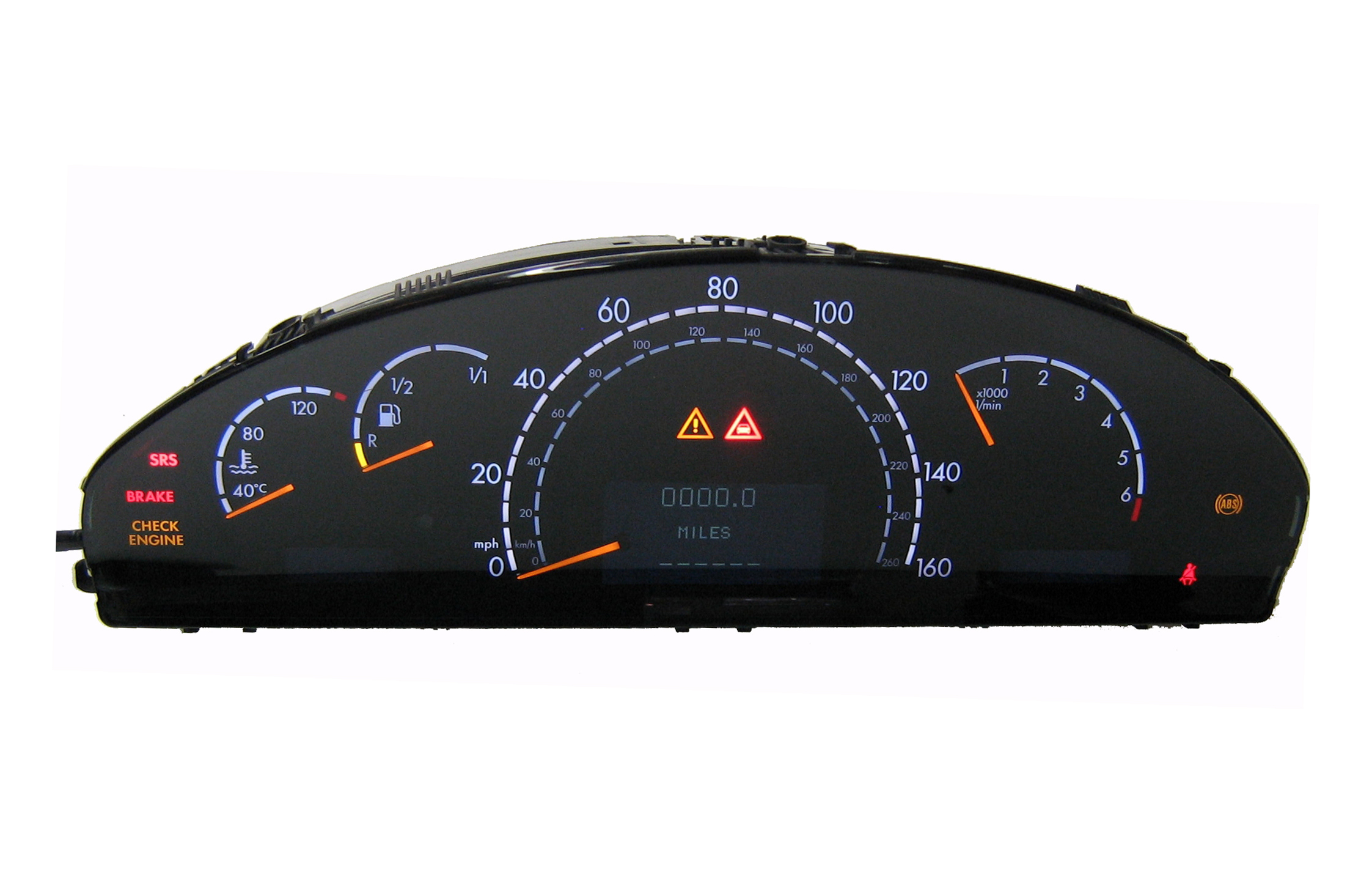 Programa 210 540 74 47 mercedes benz instrument cluster for Mercedes benz cluster repair