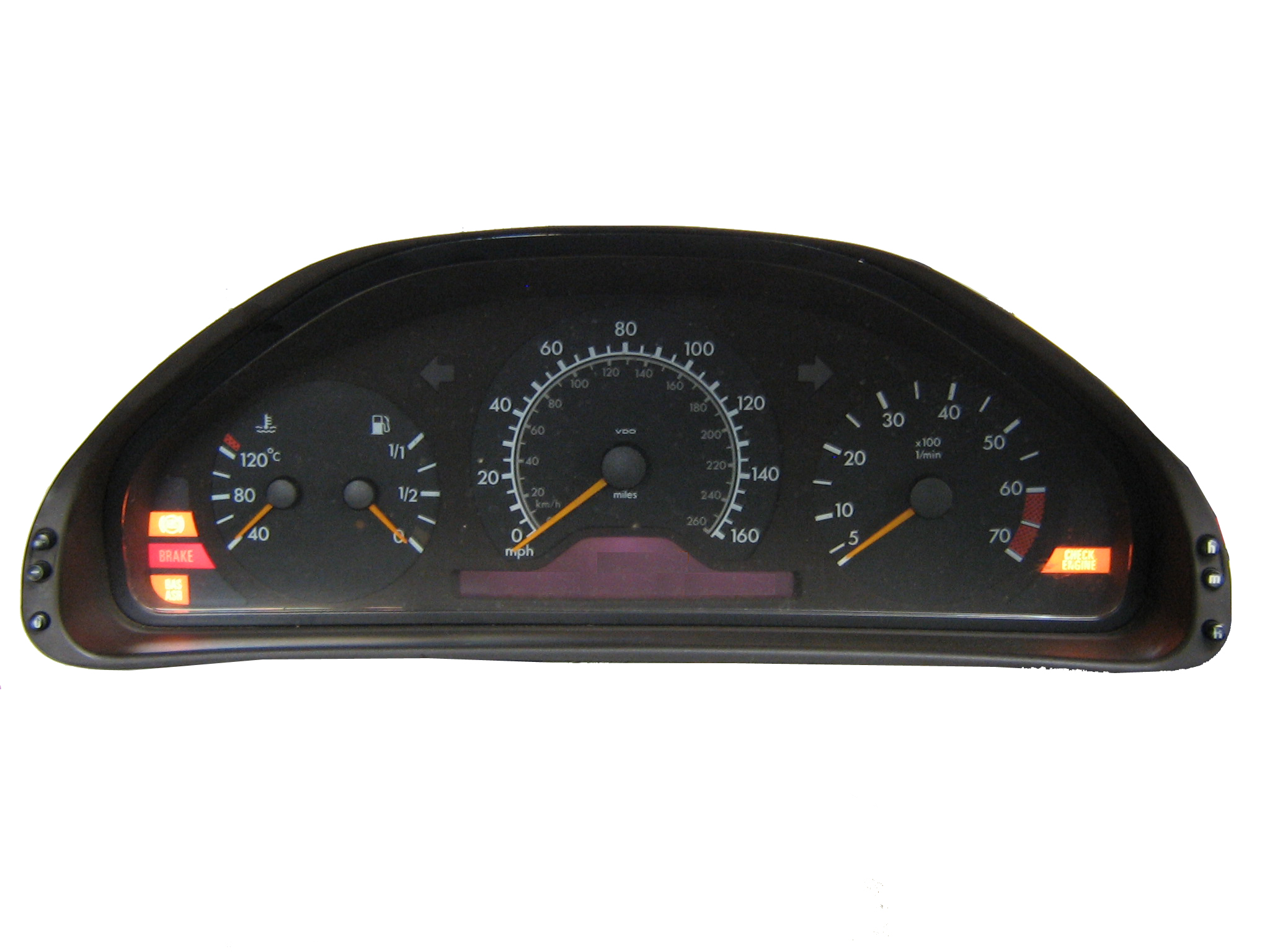Programa 210 540 74 47 mercedes instrument cluster for Mercedes benz cluster repair