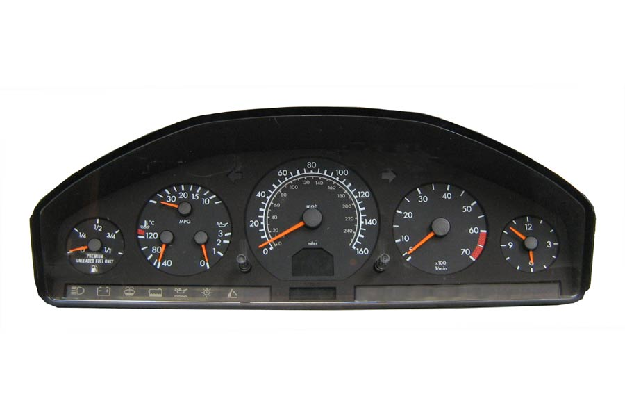 Programa 140 440 77 11 mercedes benz instrument cluster for Mercedes benz cluster repair