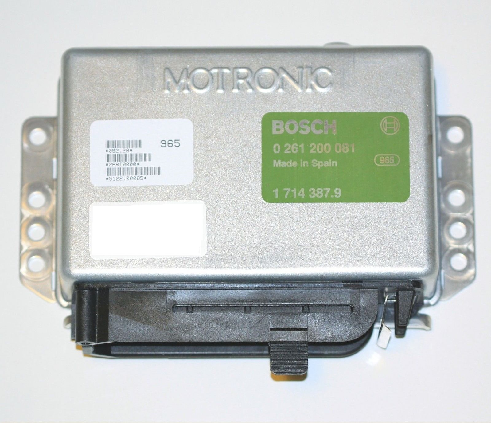 BMW Engine Control Unit 0 261 200 081