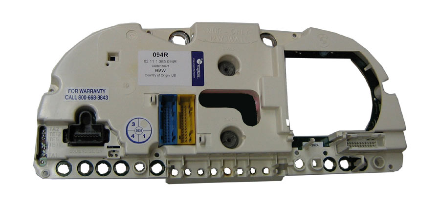 BMW Instrument Cluster Printed Circuit Board 621 113 85094R