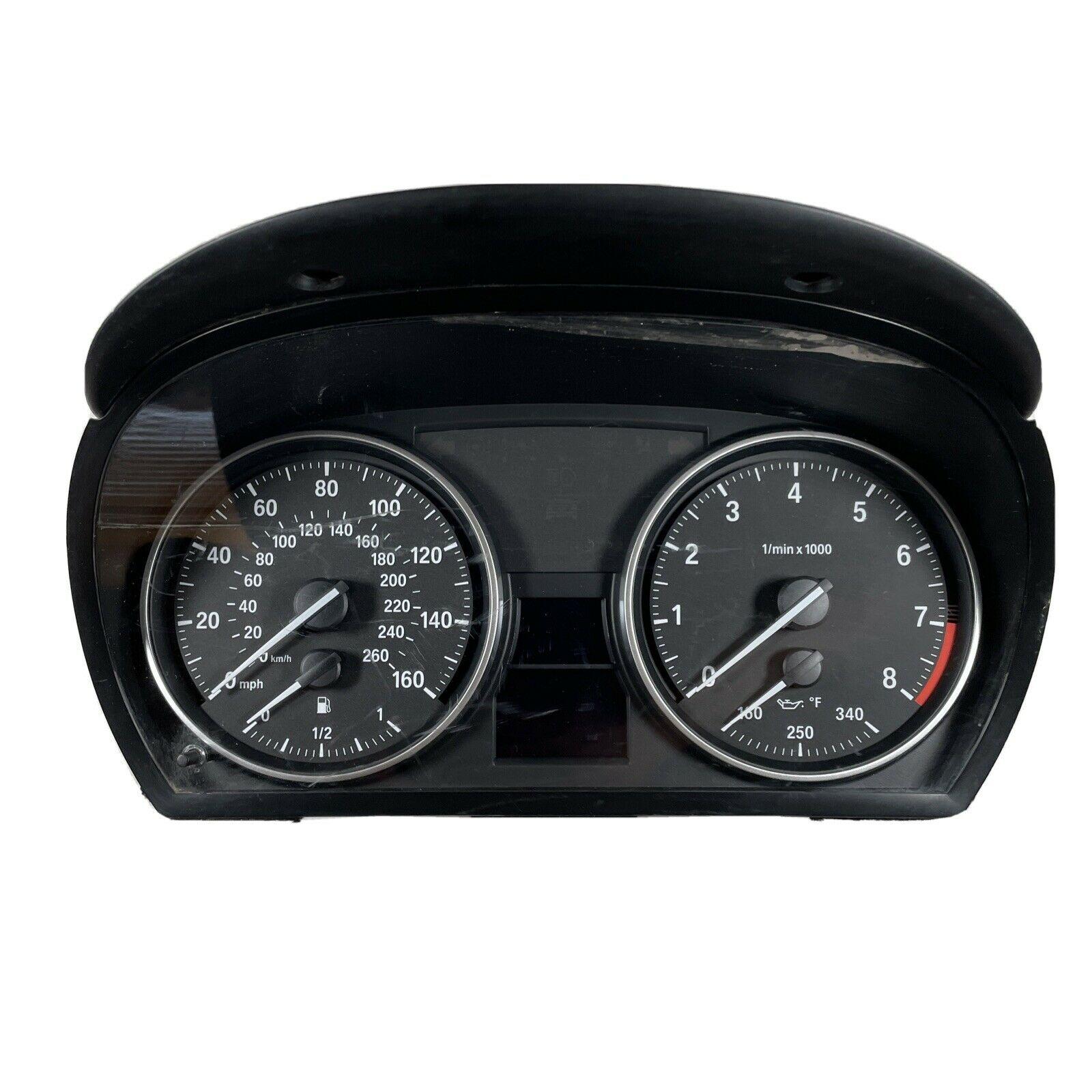 BMW Instrument Cluster 755 040 124