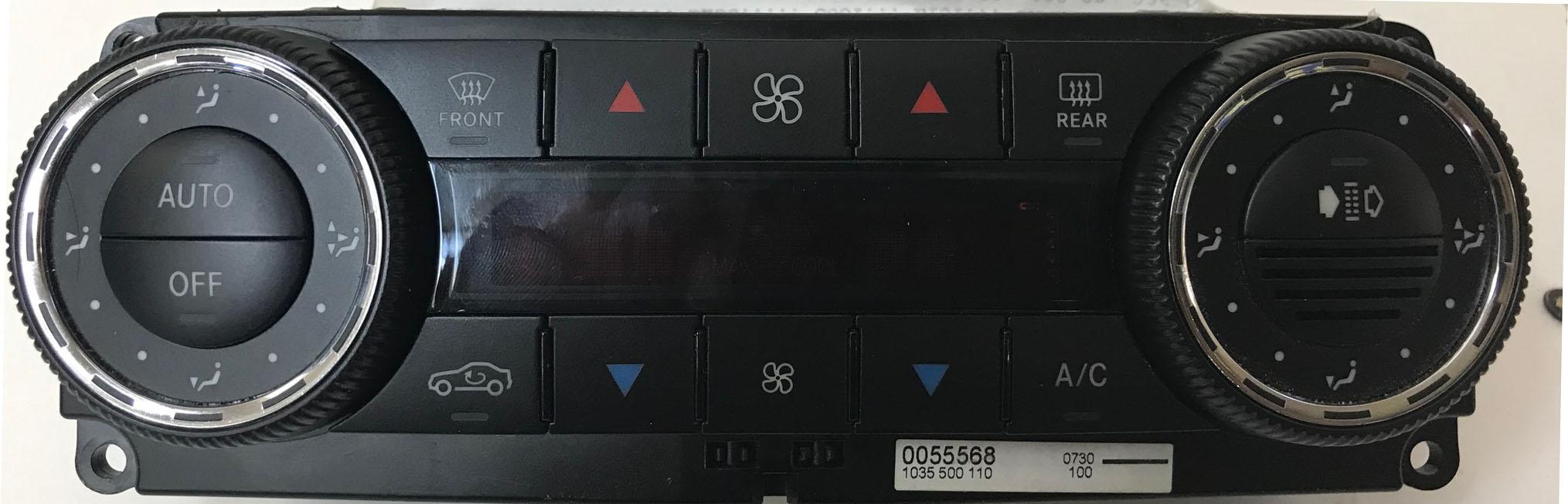 Mercedes Climate Control Unit 203 830 46 85