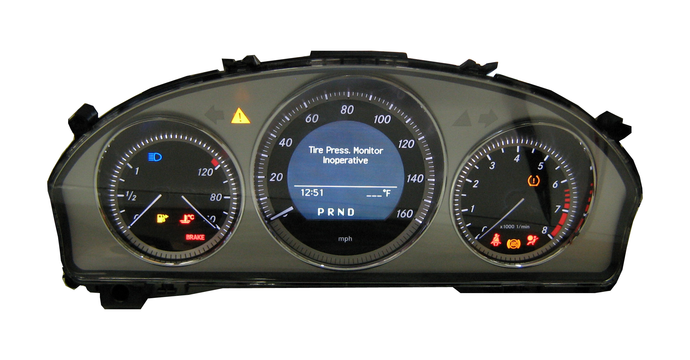 Professionally remanufactured parts with extended warranty for Mercedes benz cluster repair