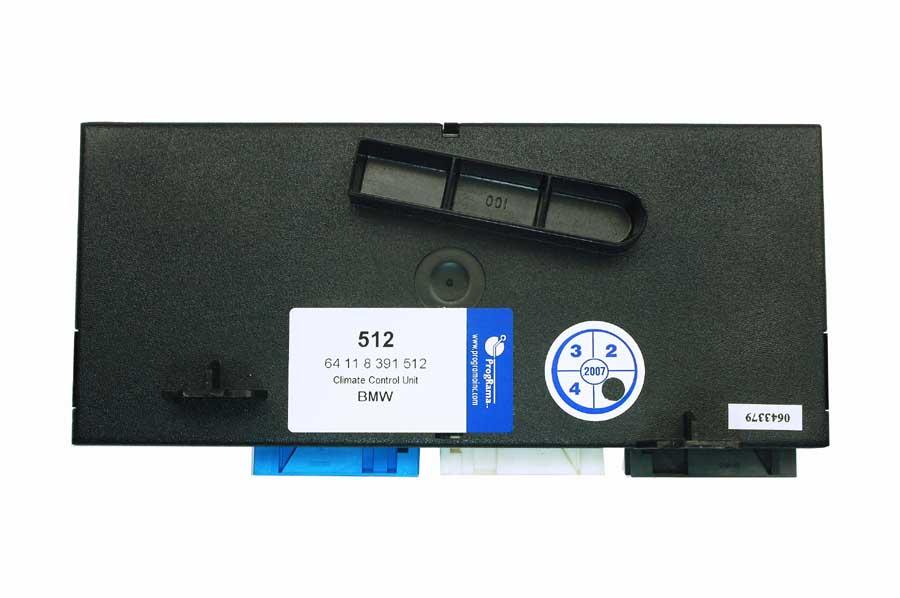 BMW Climate Control Unit 64 11 8 391 512