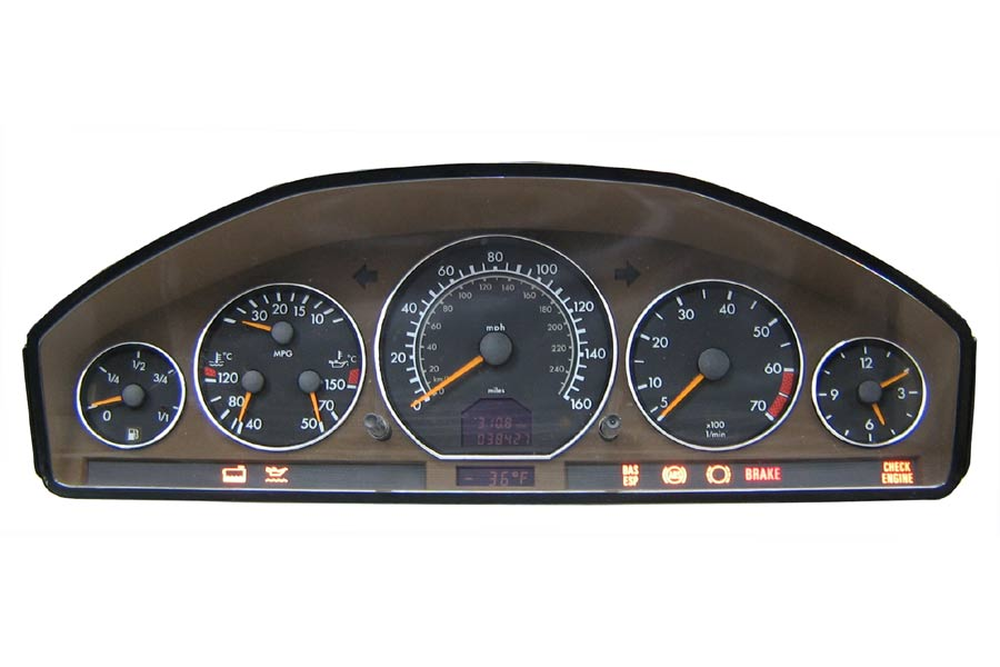 Programa 129 440 38 11 mercedes benz instrument cluster for Mercedes benz cluster repair