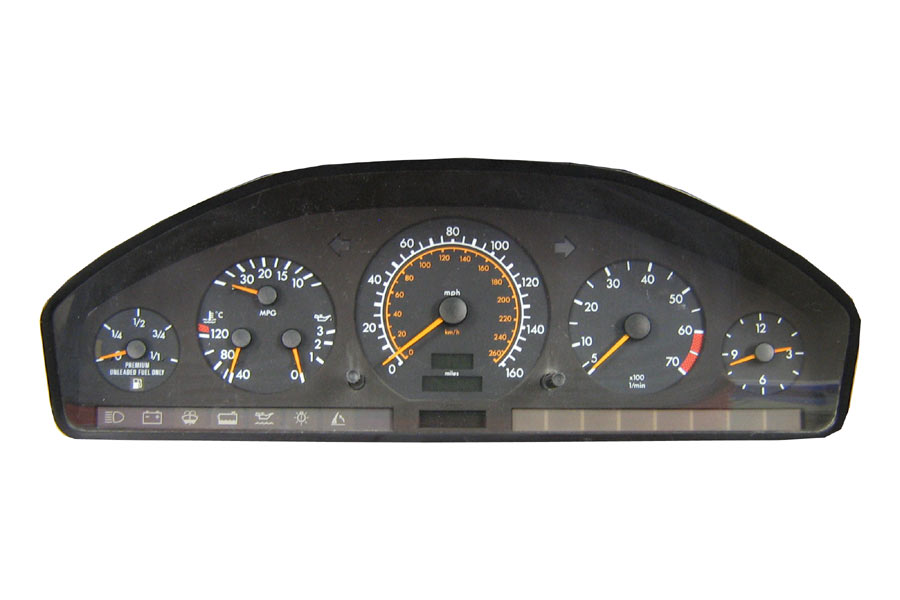 Programa 129 540 57 48 mercedes benz instrument cluster for Mercedes benz cluster repair