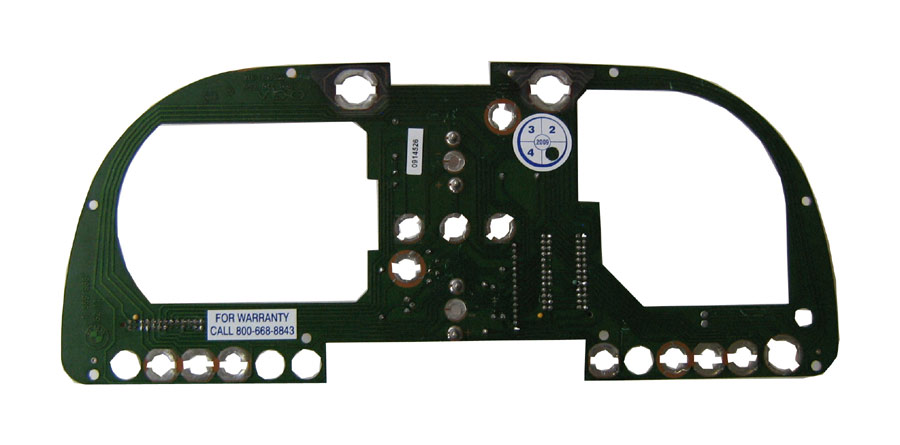 BMW Instrument Cluster Printed Circuit Board 62 11 1 369 986